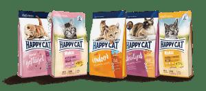 غذای خشک گربه برند هپی کت