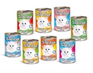 غذای کنسرو گربه سیمبا