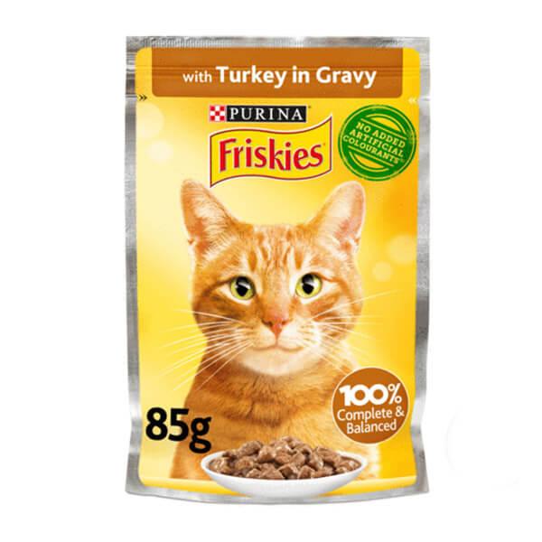 سوپ گربه بالغ بوقلمون فریسکیز