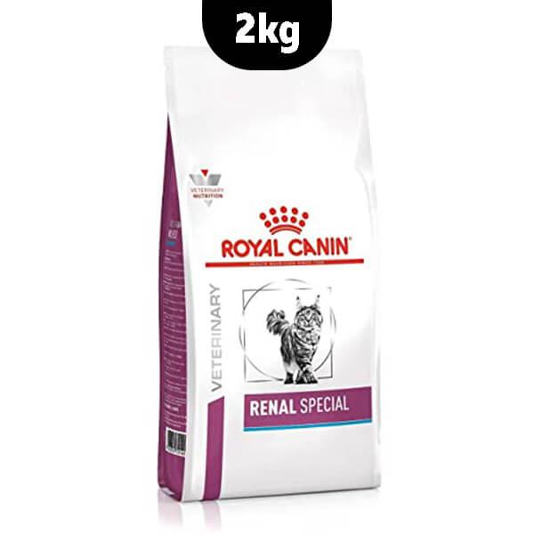 غذای خشک گربه renal special رویال کنین